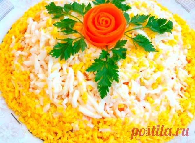 Салат слоеный на Пасху   Fresh-Recipes