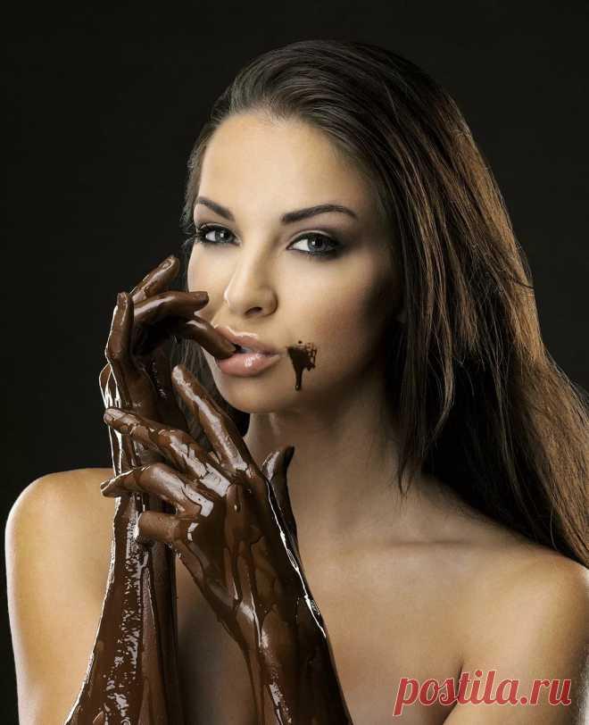 Девушка в шоколаде картинки