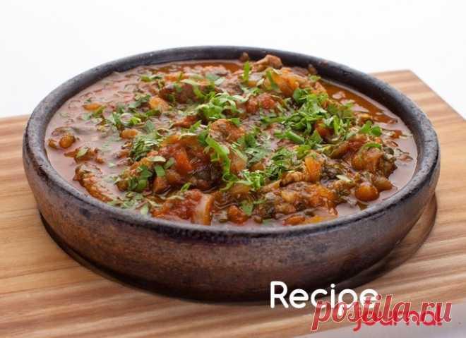 Блюдо из мяса - Чашушули (мясо по-грузински)