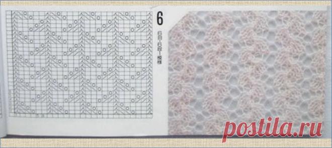 Любите вязать спицами? Для вас подборка из 50 схем - тем, кто собирает образцы и схемы | МНЕ ИНТЕРЕСНО | Яндекс Дзен