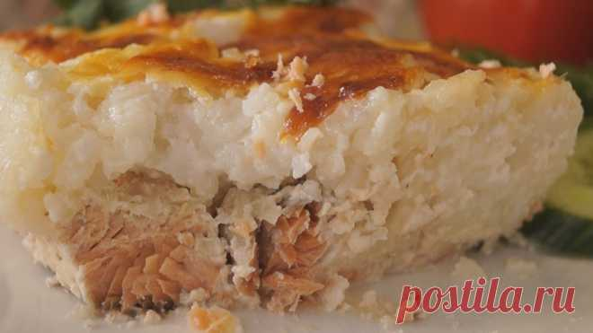 Рыбная запеканка с нежнейшим рисом. Вкуснейший ужин за 40 минут  Рыбная запеканка под нежнейшим рисом. Рис получается нежным, сочным, и не пересушенным. Рыба ароматная с изысканным вкусом. Получается очень вкусно! ИНГРЕДИЕНТЫ Рыба – 500 гр. Сок Лимона – 1,5 ст.л. …