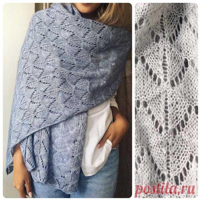 Подбираем узор для шарфа спицами. Примеры 10 работ со схемами | Вяжем вместе! | Яндекс Дзен