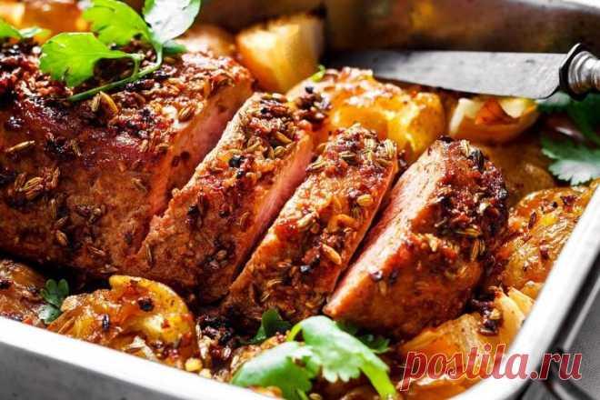 Блюда в духовке - 20 быстрых и вкусных рецептов.