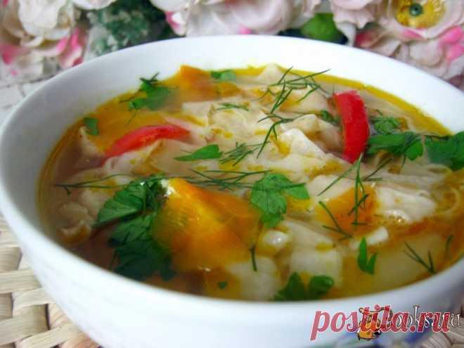 Суп с лавашем рецепт с фото. Автор: Елена М