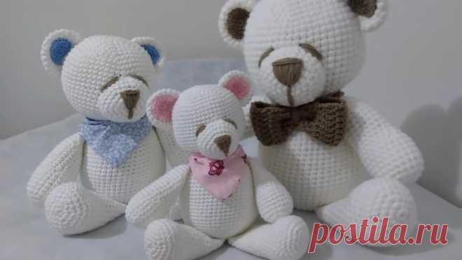 Urso de crochê: Amigurumi Passo a Passo - Criativo Ok
