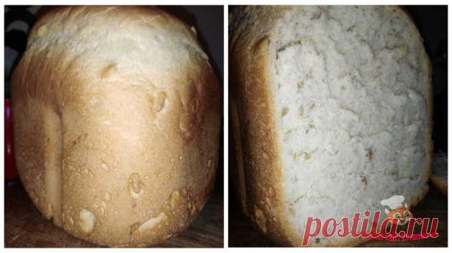 """Белый хлеб в хлебопечке. Режим """"Быстрый хлеб"""""""