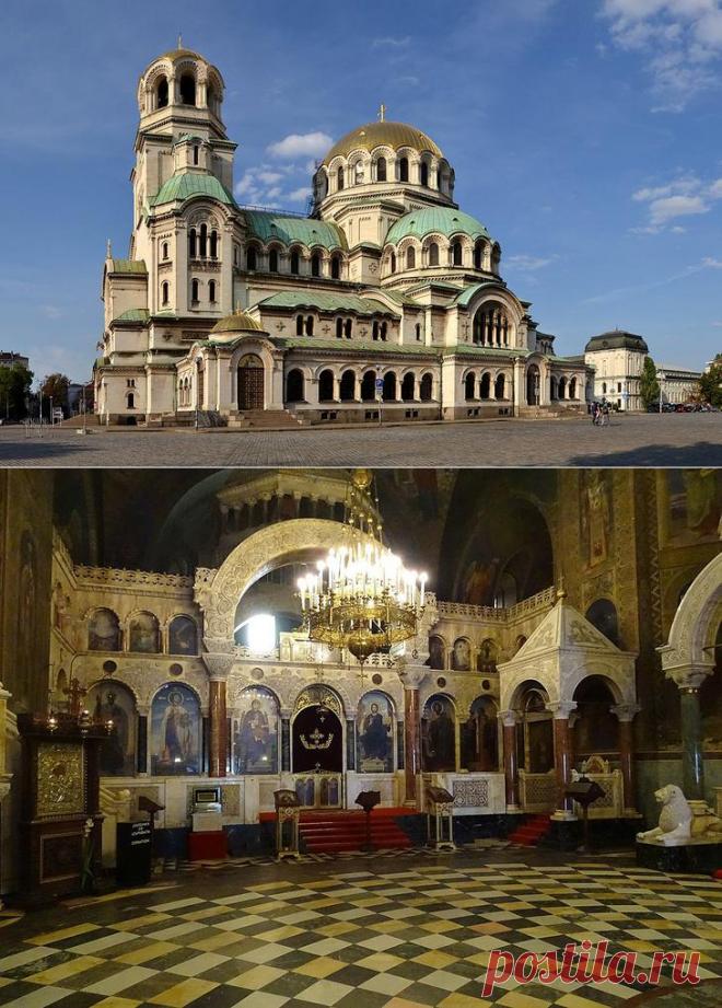 Достопримечательности Софии: что посмотреть в столице Болгарии-СОБОР АЛЕКСАНДРА НЕВСКОГО