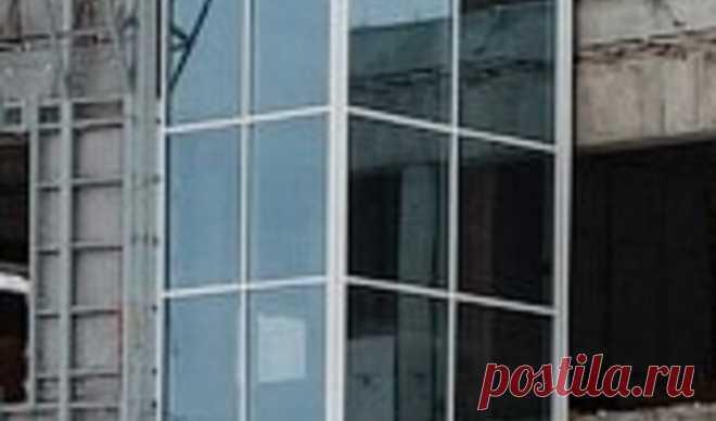 Купить остекление фасадов в Минске | Остекление фасада, цена
