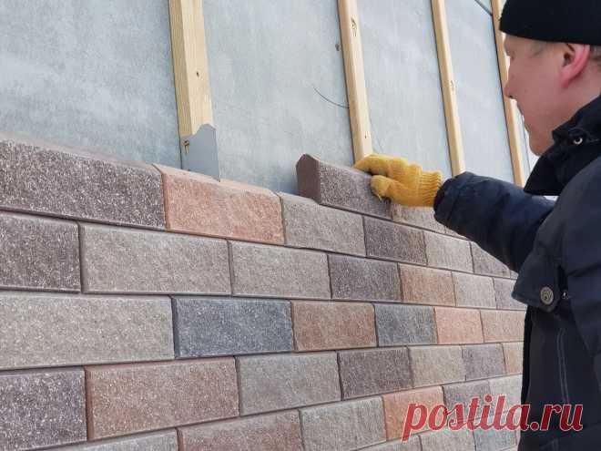 Обзор каркасного дома с навесным фасадом из блоков | Рекомендательная система Пульс Mail.ru