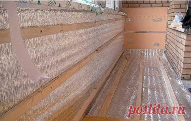 Как утеплить лоджию или застекленный балкон
