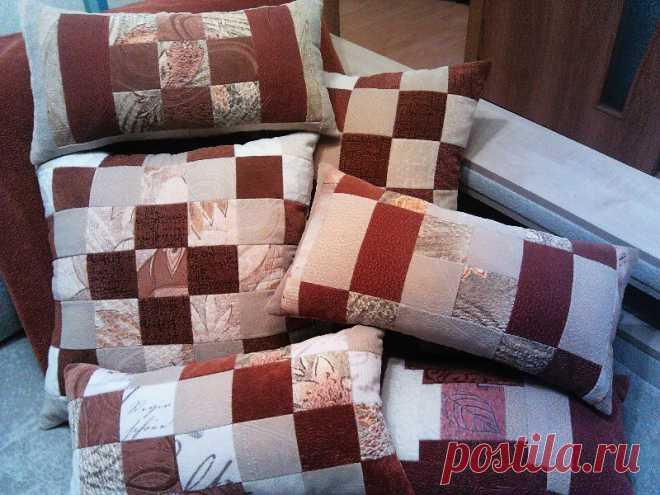 декоративные подушки, велюр