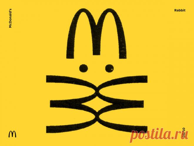 Проект «Метаморфозы» трансформировал логотип McDonald's, Nike, Kodak, Lexus и Reebok