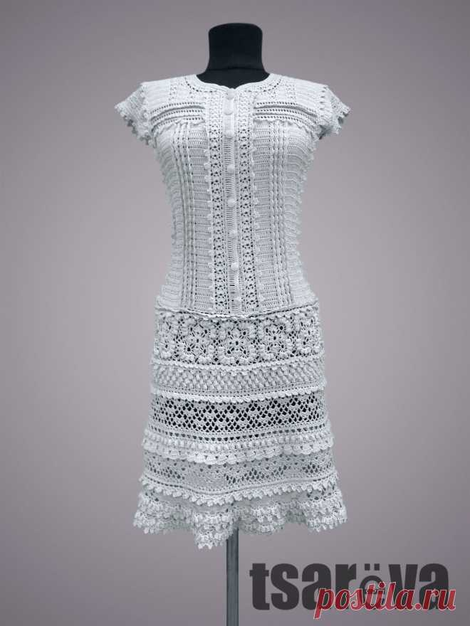 ae0b8c90679 Вязаное платье Lexie. Крючок