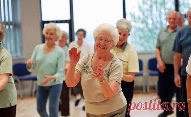Упражнение №1, чтобы замедлить старение
