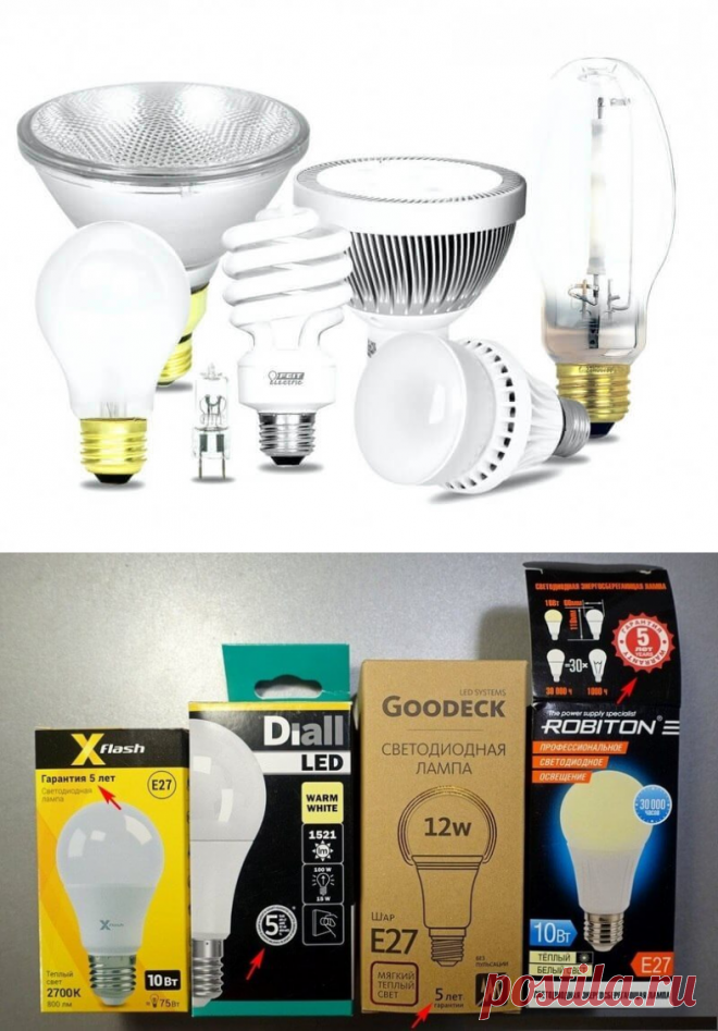 Как сделать светодиодные лампы вечными: 8 простых советов | В темпі життя