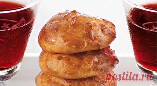 Los pastelillos borgoños con el comino, poshagovyy la receta de la foto (la pasta cocida)