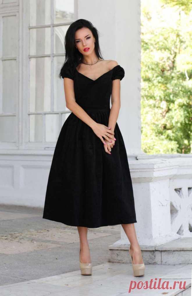 Маленькое черное платье — модные варианты