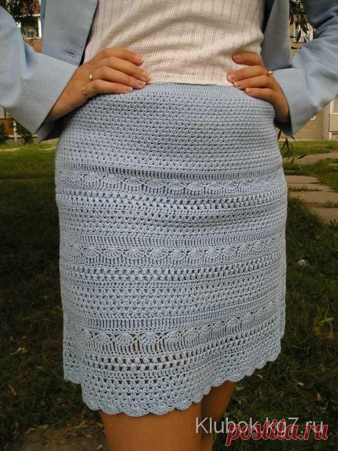 Красивые стильные юбки   Клубок   Вязание крючком   Постила