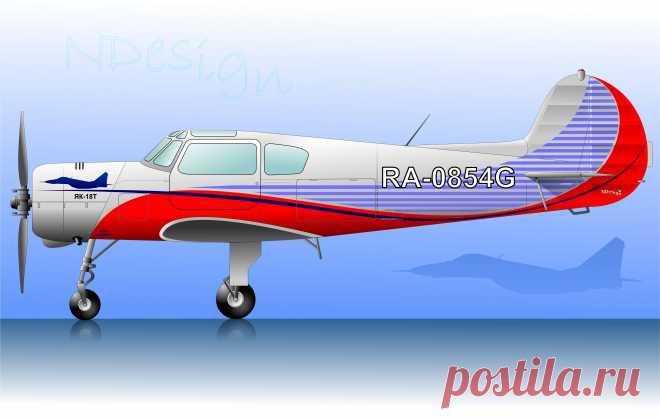 ЯК-18Т для бывшего летчика-истребителя.