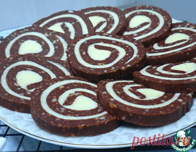 Печенье с кокосовой начинкой без выпечки – кулинарный рецепт