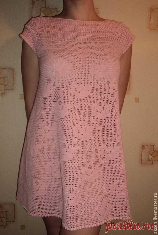 54e7f03418b Купить Платье  МЕЧТЫ О ЛЕТЕ  - розовый