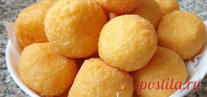Безумно вкусные сырные шарики - Лучшие рецепты