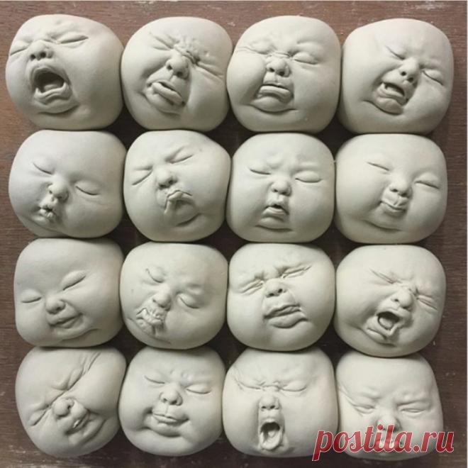 Необычные фарфоровые скульптуры от гонконгского художника Джонсона Цанга (Johnson Tsang)