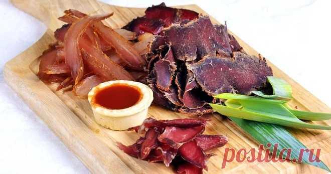Вяленое мясо — лучшие рецепты приготовления деликатеса в домашних условиях - Кейс советов