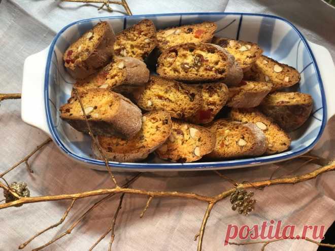 Знаменитые итальянские сухарики «Кантучини» - потрясающе вкусное и уникальное печенье - Пир во время езды