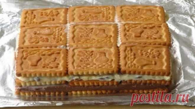 Торты из печенья — 5 лучших рецептов! Можно готовить хоть каждый день!