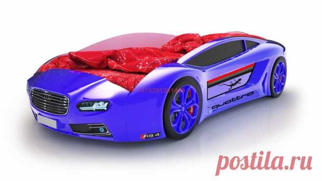 Кровать-машинка Родстер Ауди (синяя): купить в Минске недорого, низкие цены, скидки, рассрочка