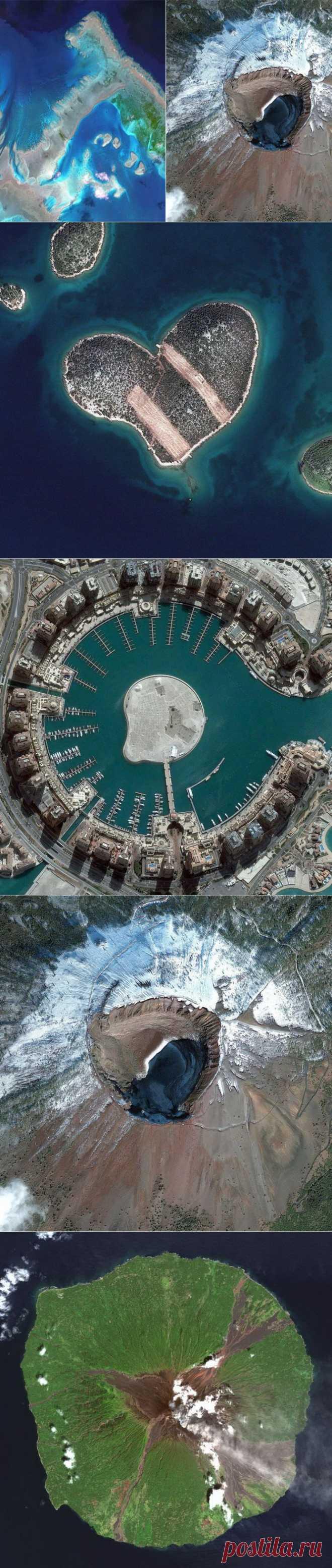 Самые впечатляющие фотографии, сделанные со спутника   Фотография   Фотография