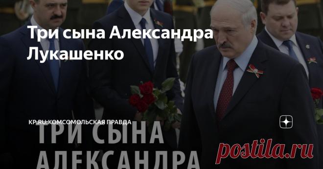 Три сына Александра Лукашенко