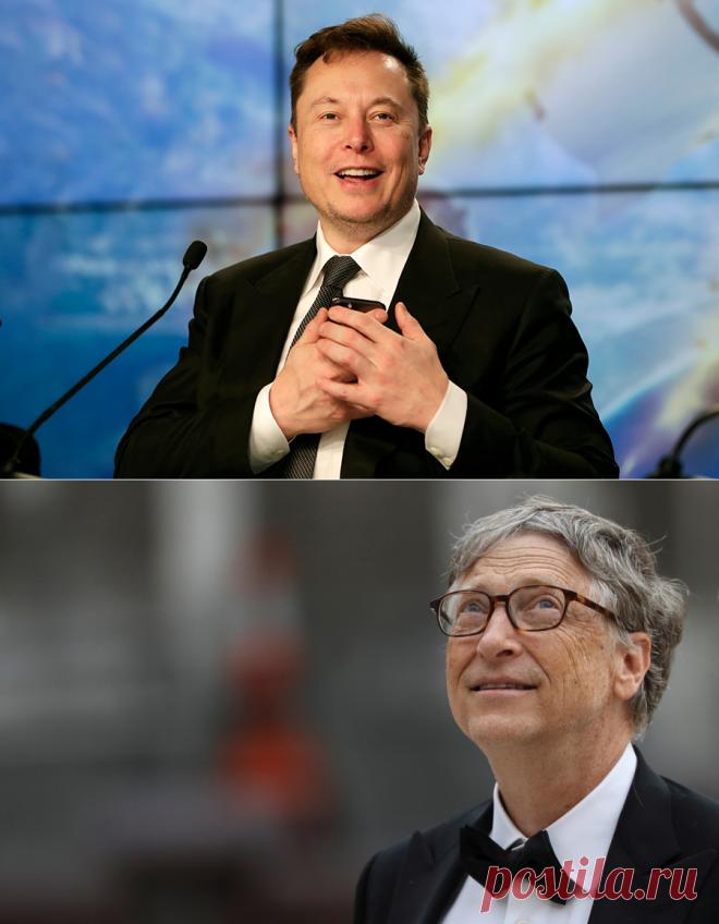 Каким будет 2021: говорят бизнес-гуру Илон Маск, Билл Гейтс, Джефф Безос :: РБК Pro