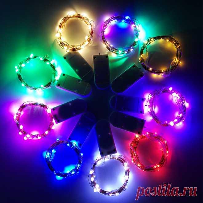 Новогодний декор, гирлянда 1 м, 2 м, 3 м, 5 м, украшения для рождественской елки, рождественские украшения для дома, натальные гирлянды Кулоны и подвески    АлиЭкспресс