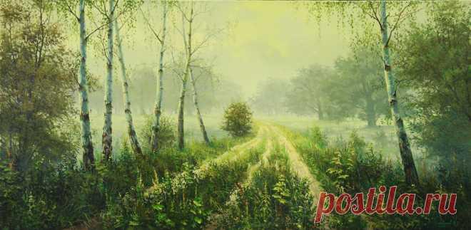 Belokhvostov Mikhail. Artist's pictures.