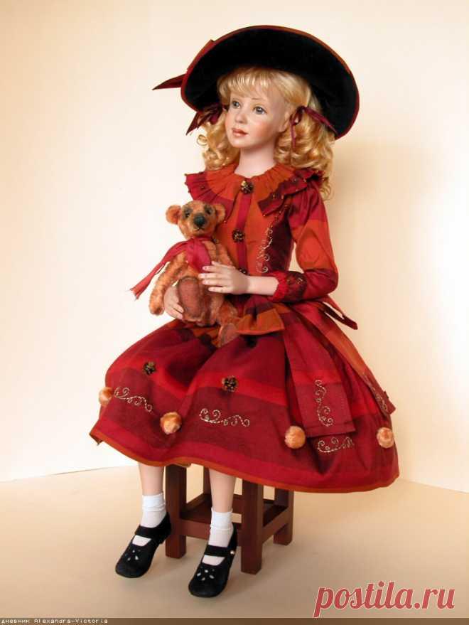 (+1) muñecas De autor de la porcelana de Svetlana Nikulshinoy