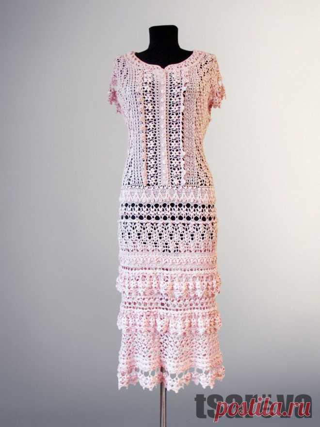 63543852c80 Шелковое вязаное платье Jemma. Натуральный шелк