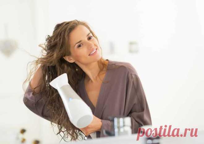 4 шага для легкой и красивой укладки волос