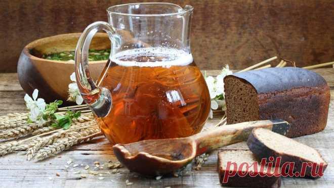 Домашний квас — 6 рецептов — Фактор Вкуса