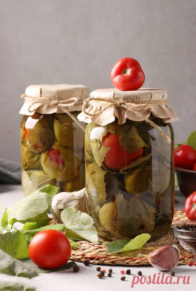 Соленые помидоры - заготовка на зиму по бабушкиному рецепту