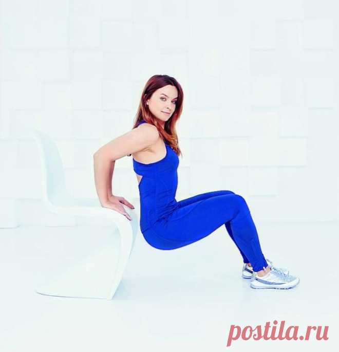 Упражнения для похудения бедер в положении сидя