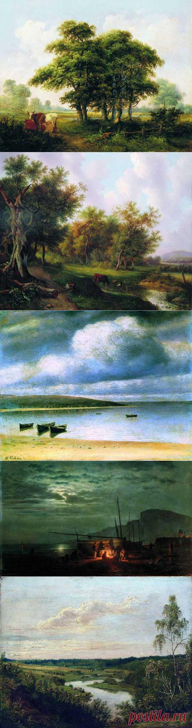 Творчество художника Михаила Константиновича Клодта.