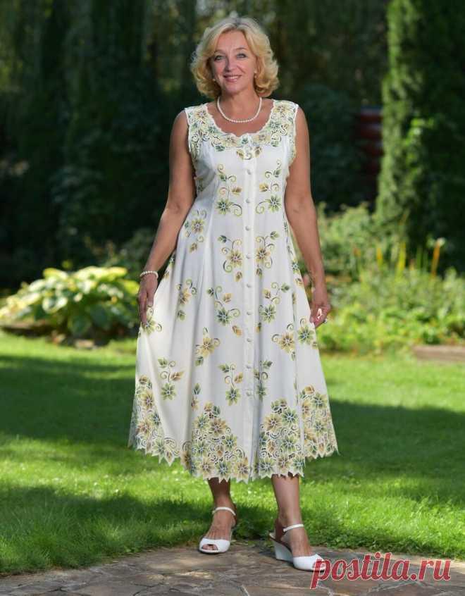 Стильные сарафаны для женщин 50 лет и старше | Мне 50 | Яндекс Дзен