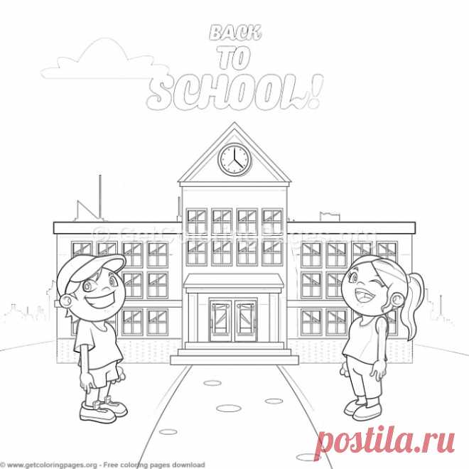 30 Back to School Coloring Pages – GetColoringPages.org
