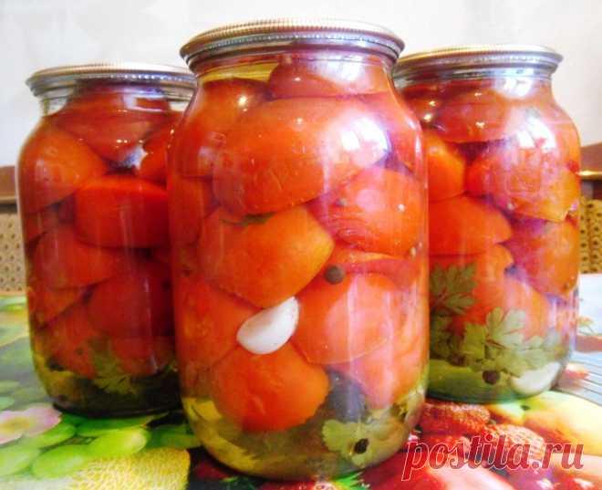Заготавливаем на зиму помидоры в желе Необычная овощная заготовка на зиму - дольки помидор в желе. Эта закуска внесет приятное разнообразие в ваше меню и поможет накрыть стол к приему гостей.  Ингредиенты: На три литровые банки — 2 – 2,5 …