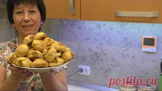 Как приготовить заварные пирожные (эклеры, профитроли), чтобы получились! Очень просто!