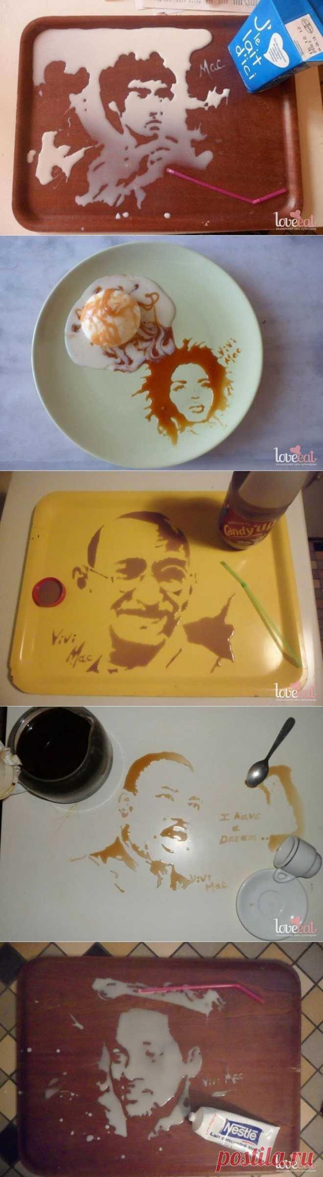 Текучее искусство - Loveeat - социальная сеть кулинаров