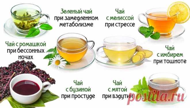 Чай способен на многое! Узнай, как влияют на организм разные виды этого напитка. - Советы и Рецепты  К чаю не стоит относиться легкомысленно! Это не только вкусный иароматный напиток. В зависимости от компонентов, чай может действовать на твой организм по-разному. Поэтому всегда руководствуйся при выборе чая не только приятным запахом, цветом и вкусом: обращай внимание на действие состава чая. Учись правильно заваривать чай — слишком крепкий и концентрированный напиток может принести …