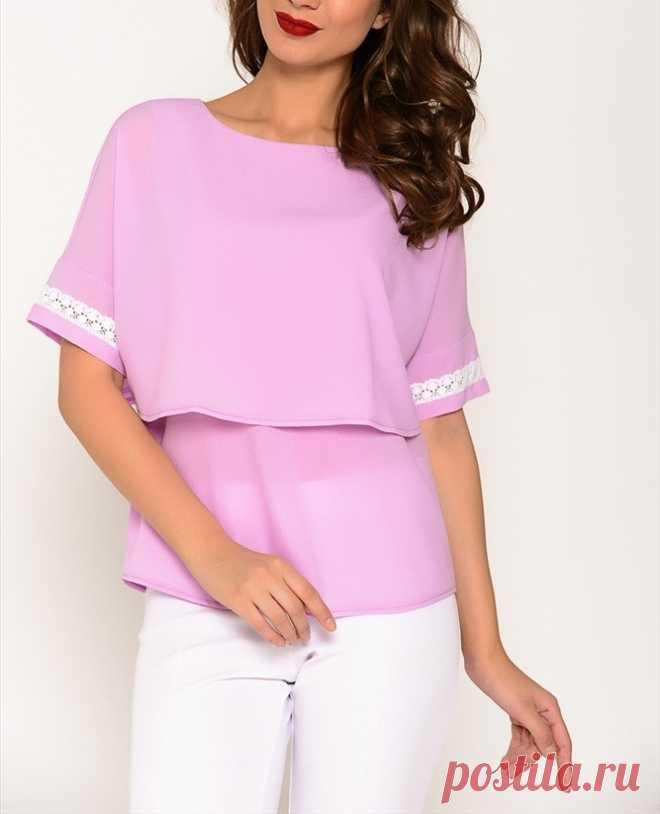 #выкройкиТОПЫблузы  #ШЬЕМ_БЫСТРО Блуза с цельнокроеным рукавом + ИДЕИ